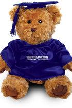 "Teddy Bear - 10"" Traditional Bear - Graduation Cap & Gown"